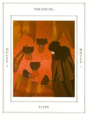 Five of Cauldrons Tarot Card - Tapestry Tarot Deck