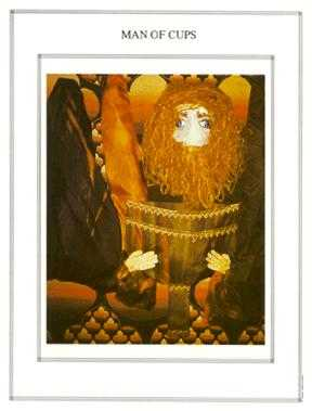 King of Ghosts Tarot Card - Tapestry Tarot Deck