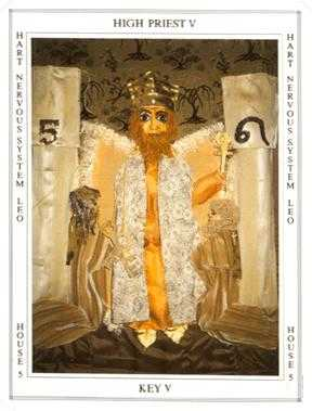 The High Priest Tarot Card - Tapestry Tarot Deck