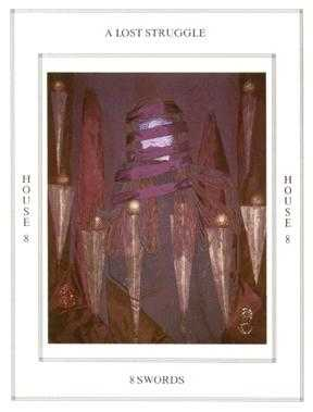 Eight of Wind Tarot Card - Tapestry Tarot Deck