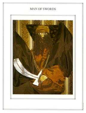 Shaman of Swords Tarot Card - Tapestry Tarot Deck