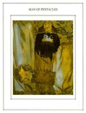 King of Coins Tarot Card - Tapestry Tarot Deck