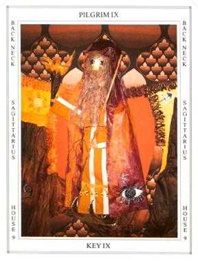 The Hermit Tarot Card - Tapestry Tarot Deck