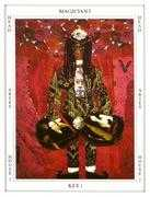 The Magician Tarot card in Tapestry deck