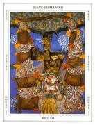 The Hanged Man Tarot card in Tapestry deck