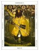 The Emperor Tarot card in Tapestry deck