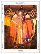 The Hermit Tarot card in Tapestry deck
