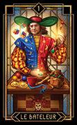 The Magician Tarot card in Tarot Decoratif deck