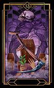 Death Tarot card in Tarot Decoratif deck