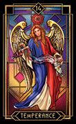 Temperance Tarot card in Tarot Decoratif deck