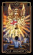 Judgement Tarot card in Tarot Decoratif deck
