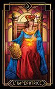 The Empress Tarot card in Tarot Decoratif deck