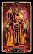 King of Wands Tarot card in Tarot Decoratif deck