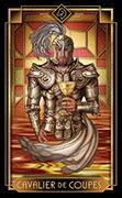 Knight of Cups Tarot card in Tarot Decoratif deck