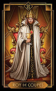 King of Cups Tarot card in Tarot Decoratif deck