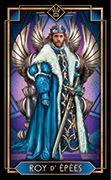 King of Swords Tarot card in Tarot Decoratif deck