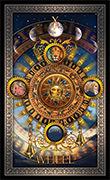 Wheel of Fortune Tarot card in Tarot Grand Luxe deck