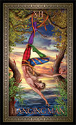 The Hanged Man Tarot card in Tarot Grand Luxe deck
