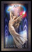 Temperance Tarot card in Tarot Grand Luxe deck
