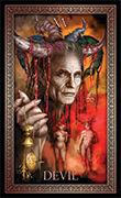 The Devil Tarot card in Tarot Grand Luxe deck