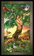 The Empress Tarot card in Tarot Grand Luxe deck
