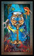 Ace of Cups Tarot card in Tarot Grand Luxe deck