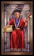The Emperor Tarot card in Tarot Grand Luxe deck