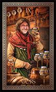 Nine of Cups Tarot card in Tarot Grand Luxe deck