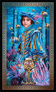 Page of Cups Tarot card in Tarot Grand Luxe deck