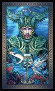 Knight of Cups Tarot card in Tarot Grand Luxe deck
