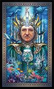King of Cups Tarot card in Tarot Grand Luxe deck
