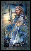 Five of Swords Tarot card in Tarot Grand Luxe deck