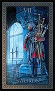 Seven of Swords Tarot card in Tarot Grand Luxe deck