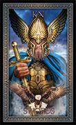 Knight of Swords Tarot card in Tarot Grand Luxe deck