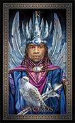 King of Swords Tarot card in Tarot Grand Luxe deck