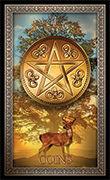 Ace of Pentacles Tarot card in Tarot Grand Luxe deck