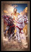 The Chariot Tarot card in Tarot Grand Luxe deck