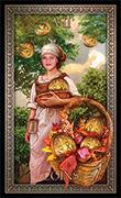 Seven of Pentacles Tarot card in Tarot Grand Luxe deck