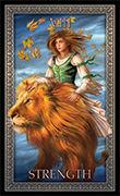 Strength Tarot card in Tarot Grand Luxe deck