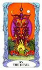 tarot-moon-garden - The Devil