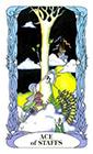 tarot-moon-garden - Ace of Wands
