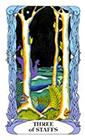 tarot-moon-garden - Three of Wands