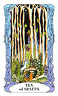 tarot-moon-garden - Ten of Wands