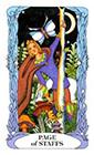tarot-moon-garden - Page of Wands