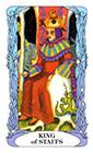 tarot-moon-garden - King of Wands