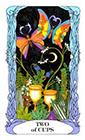 tarot-moon-garden - Two of Cups