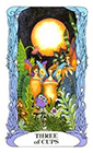 tarot-moon-garden - Three of Cups