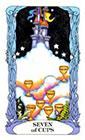 tarot-moon-garden - Seven of Cups