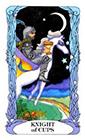 tarot-moon-garden - Knight of Cups