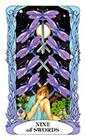 tarot-moon-garden - Nine of Swords